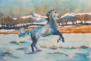 """Storm's A-Comin"" copyright Cheri Isgreen"