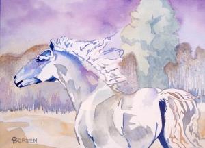 """He Calls the Wind Mariah"" copyright Cheri Isgreen  July 2014"