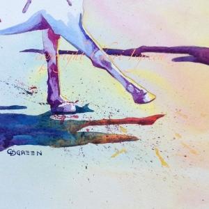 """Two Step"" copyright Cheri Isgreen"