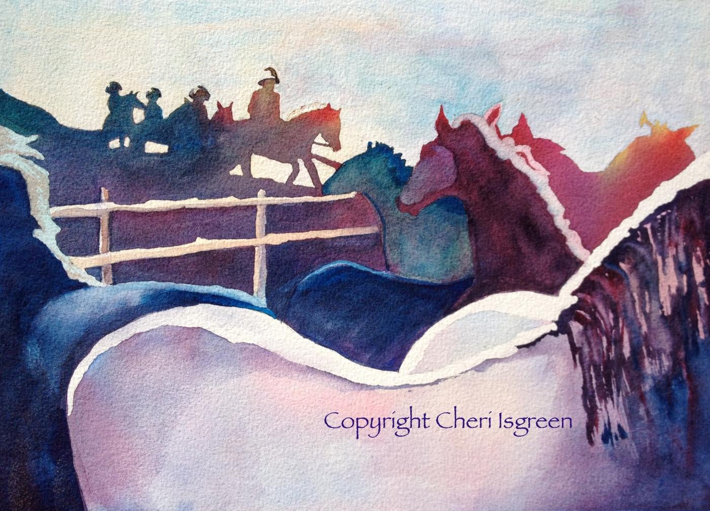 """Rescue, 1945"" copyright Cheri Isgreen, 2014"