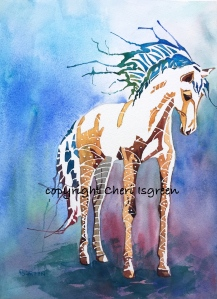 "Dream Horse #1 ""Queen Bee"" copyright Cheri Isgreen"