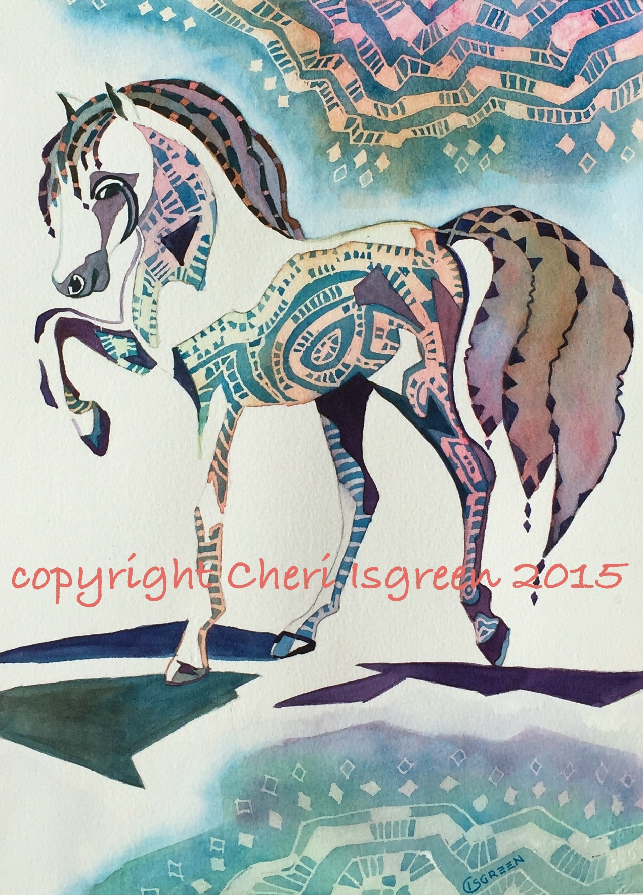 %22Dream Horse #4.Carousel%22