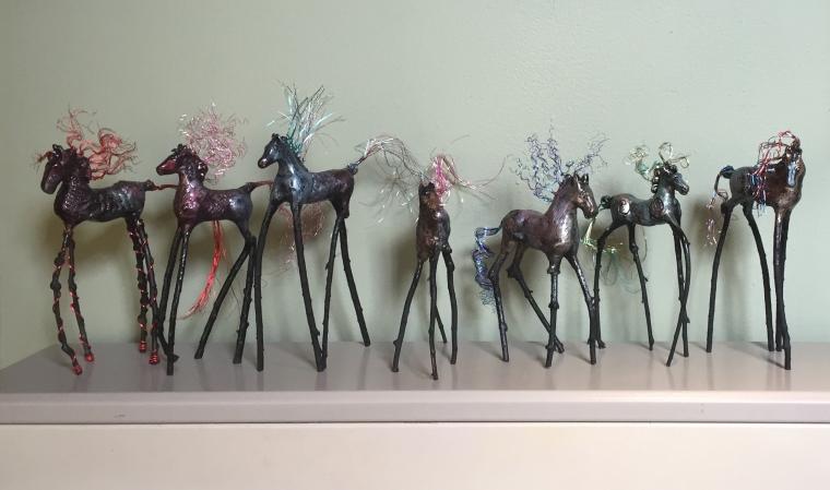 3D Dream Horses $125 copyright Cheri Isgreen 2015