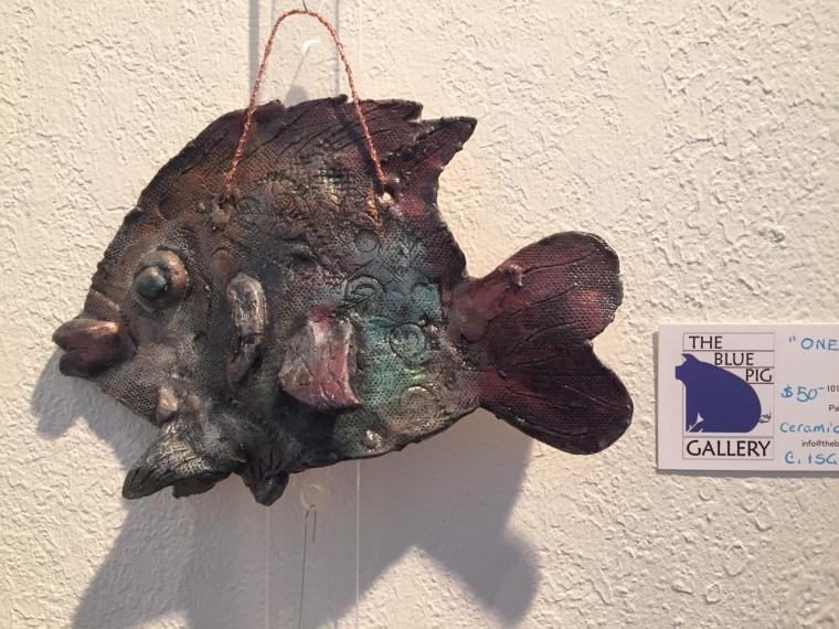 """One Fish"" copyright C Isgreen $50"