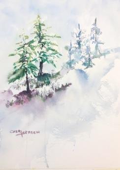 snowy-hillside