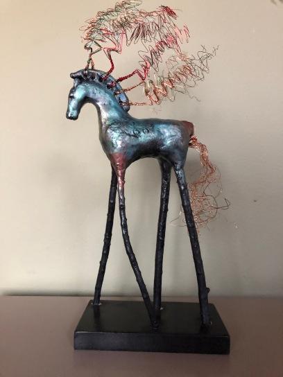 horse-pedastal